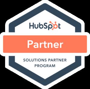 HubSpot partner badge